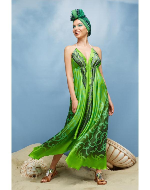 Green, Aqua & Cyclamen Jewels – alege nuanțe exotice aprinse pentru ținute de vară deosebite