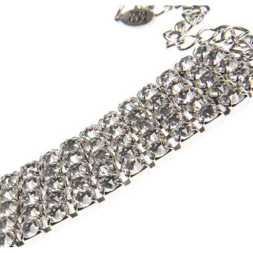 Colier Aura cristale Swarovski Crystal Clear