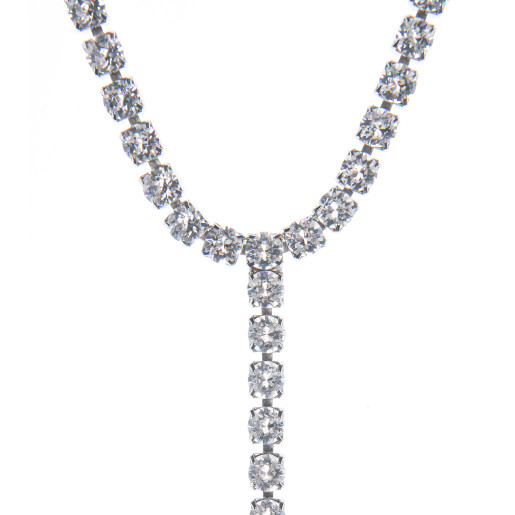 Colier Fiona cristale Swarovski Crystal Clear