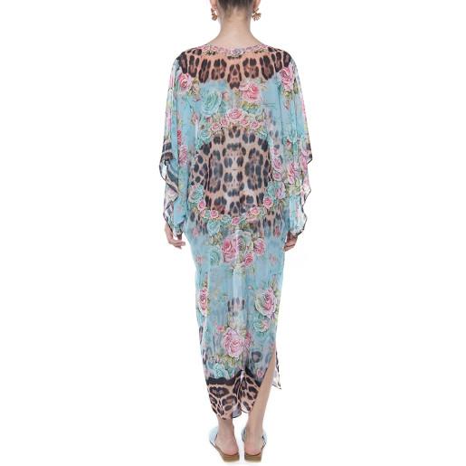 Kimono voal, imprimeu Dreamy Garden