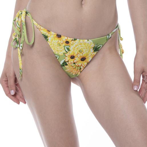 Slip Sun Flower Bloom, brazilian talie joasa cu snur