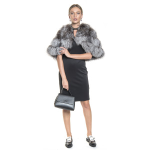 Capa natural fur silver fox