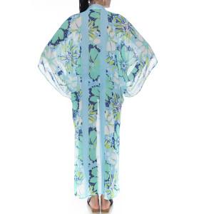 Kimono deschis Aqua Marine, voal
