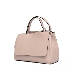 Geantă medie Paisi Class, model Anisia, Blush Pink, 38x16x28.