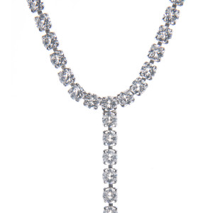 Colier Fiona cristale Swarovski Crystal Clear