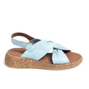 Sandale plaja X Bleu, piele naturala 100%