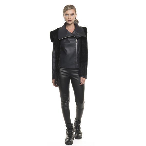 Jachetă cambrată de bumbac peliculizat