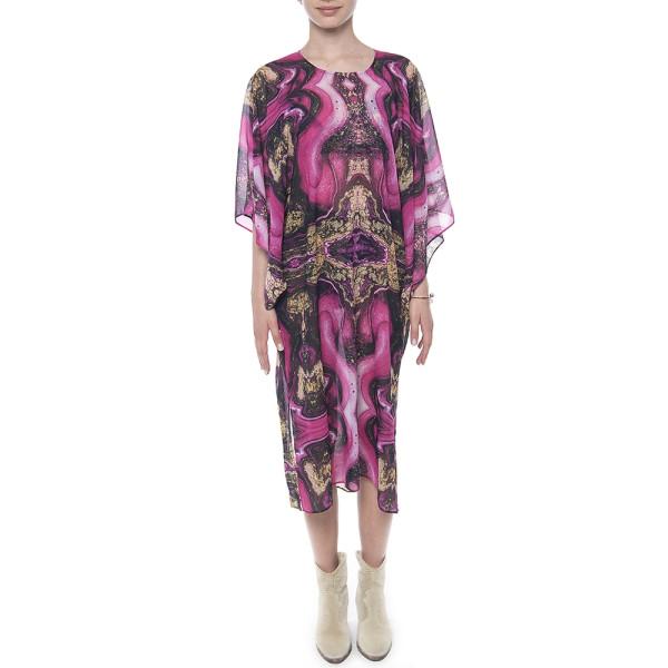 Kimono voal, imprimeu Summer Kiss