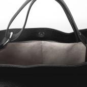 Geantă medie Paisi Class, model Anisia, neagră, 38x16x28