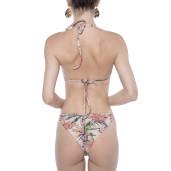 Sutien triunghi push-up cu inel, Tropical Breeze