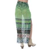 Pareo Green jewel, 112x132cm, voal