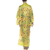 Light kimono, veil, Sun Flower Bloom print