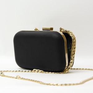 Geantă Paisi Class, model plic Lux, negru