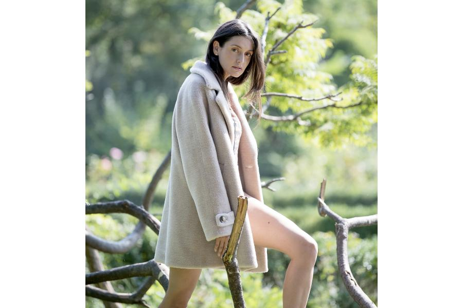 210.Military shearling by Paisi